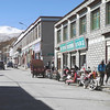 Nagartze Tibet main street.