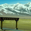 Highway gate - common in Tibet