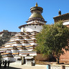 Gyantze - largest stupa of its kind -
