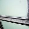 Even the windows in the train bathroom had ice inside