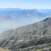 Last view of Lhasa valley