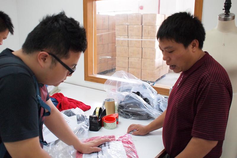 Hei and 柒師傅