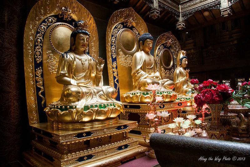 China-3070<br /> Bronze Buddha's in the Bronze Art Museum