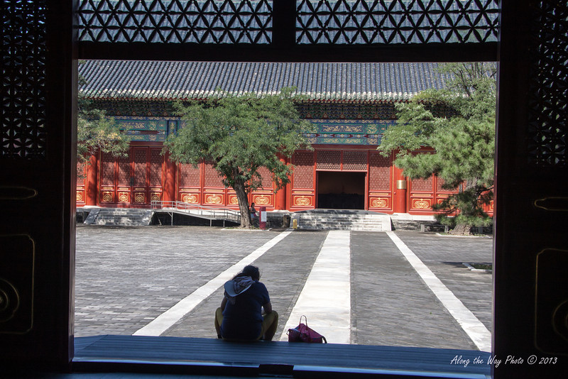 China-0995<br /> Ancient Architectural Museum-Collects and displays the development of the ancient architecture in China.