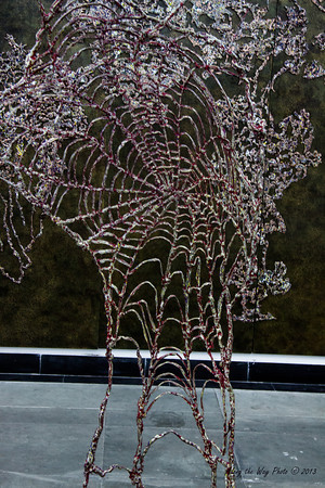 China-3088<br /> bronze Spider web in the Bronze Art Museum