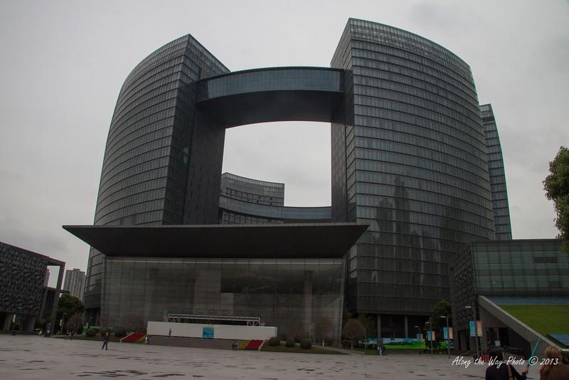 China-3186<br /> Civic Center in  Hangzhou, China