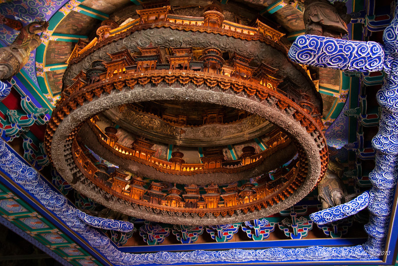 China-1019<br /> Ancient Architectural Museum-Collects and displays the development of the ancient architecture in China.