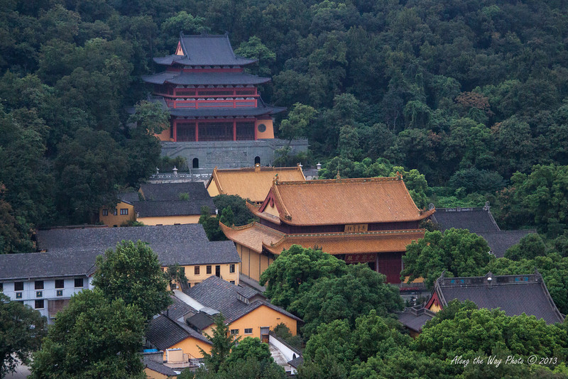China-3257<br /> View from Top of Lei Feng Pagoda.