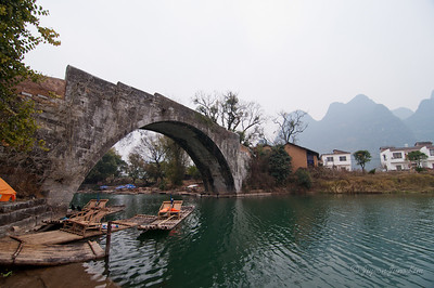 Dragon Bridge in Yangshuo