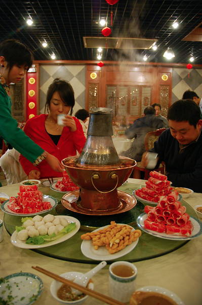 Traditional Chinese 'Hot pot'