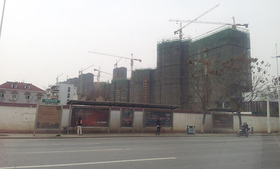 Wuhan is one giant construction site