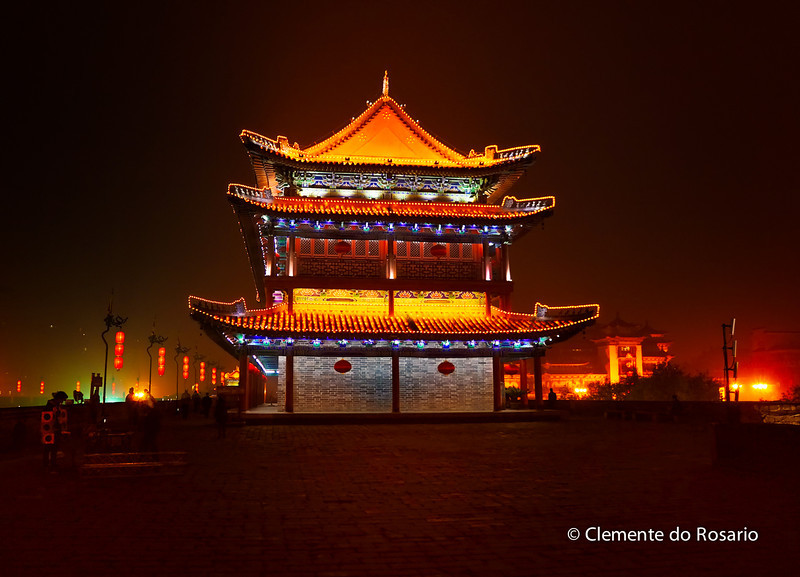 Ancient City Wall of Xian
