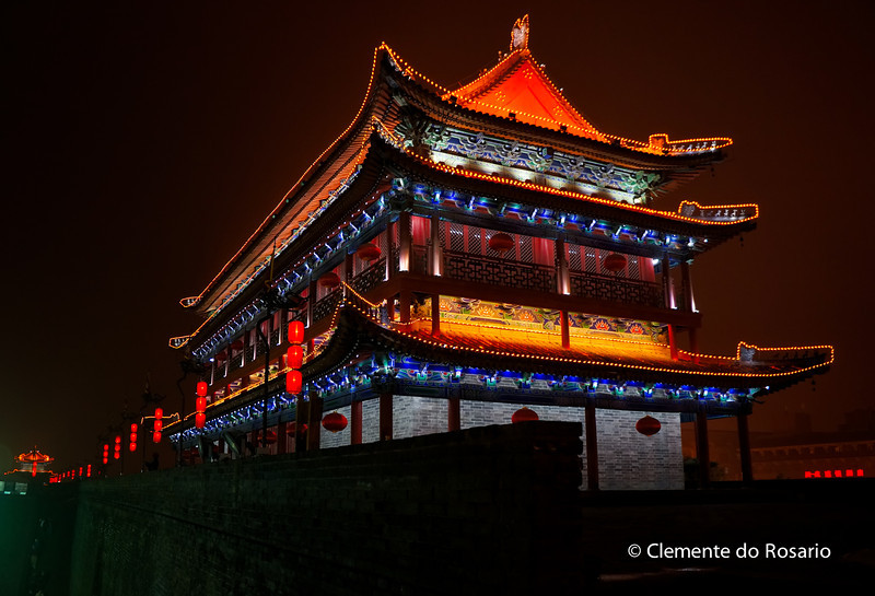 Ancient City Wall of Xian