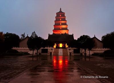 Big Wild Goose Pagoda, Xian