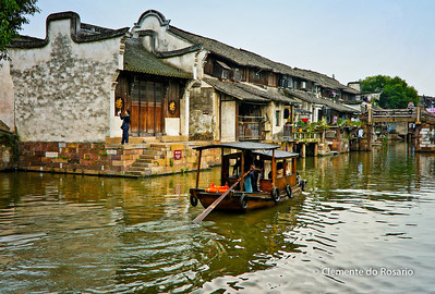 Wuzhen Town, typical Chinese riverside town