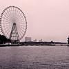Ferris Wheel in TaiHu Bridge Park, Wuxi, China