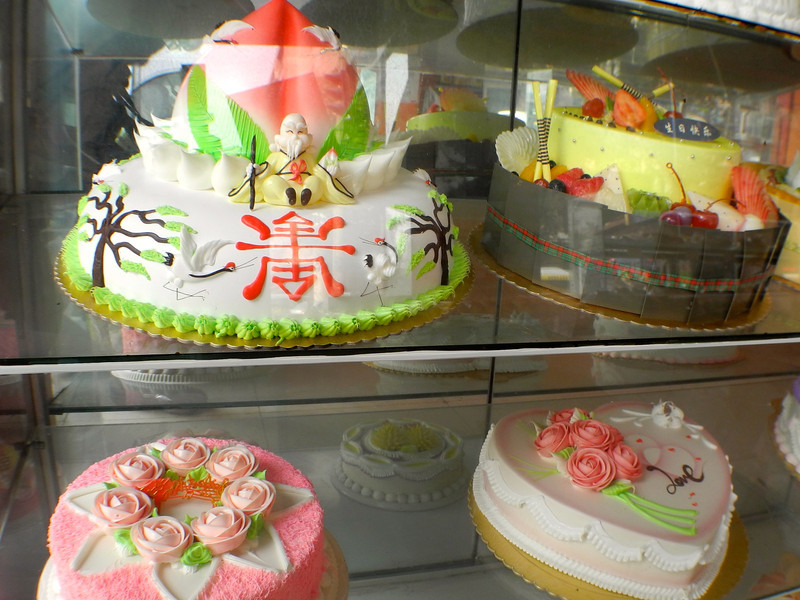 Celebration sweets are a big thing here