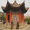 Entry to the Tibeten Buddhist temple in old Xi'an