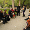This group was playing traditional opera music