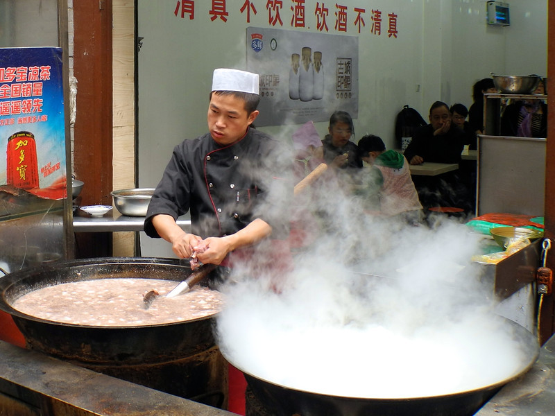 Huge soup pots