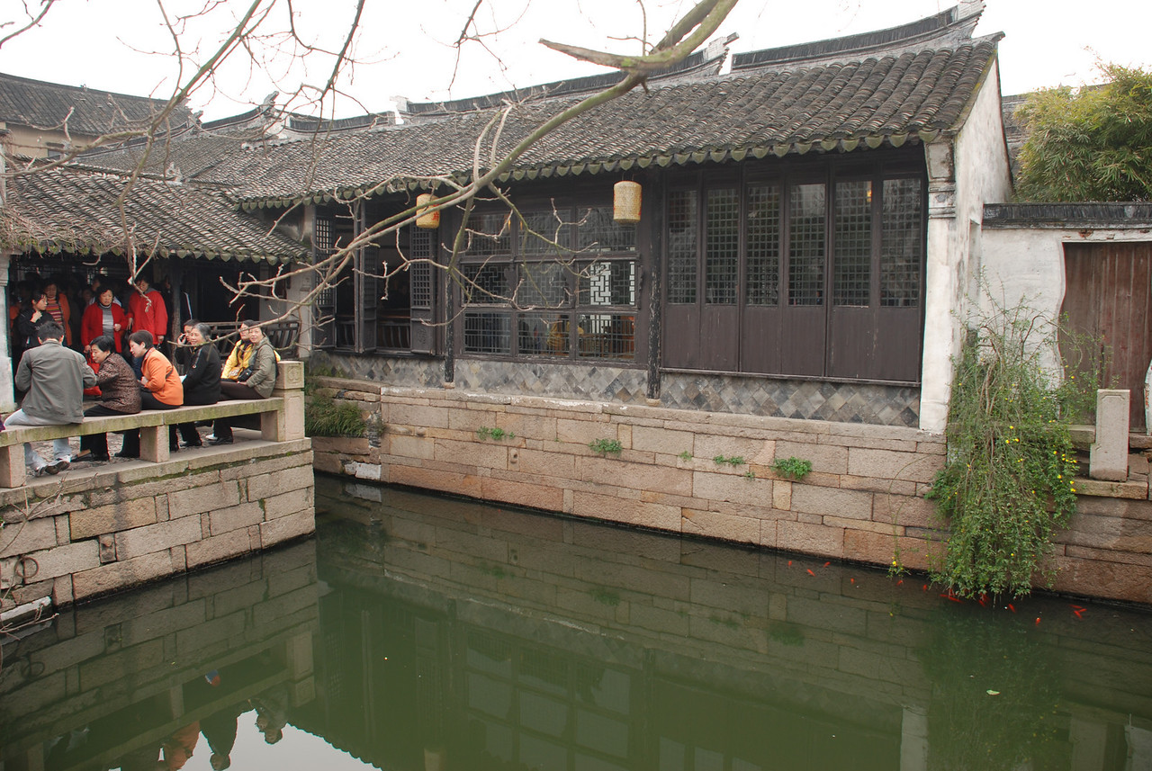 Garden in Zhouzhuang