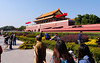 Beijing. Tiananmen Square-The Gate of Heavenly Peace-The Forbidden City.