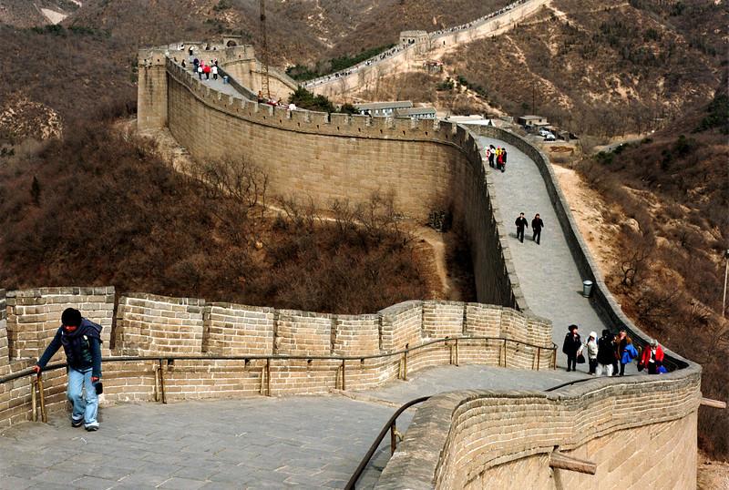 Great Wall at Badaling.