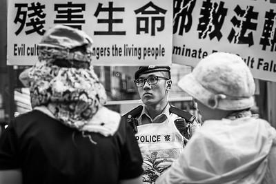 demonstration in Hong Kong 2018