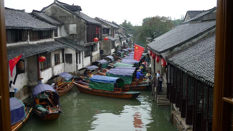 Boats in Zhouzhuang.