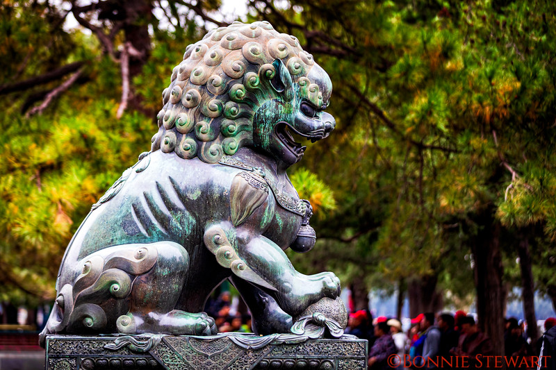 Dragon in the Summer Palace grounds