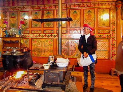 Tibetan Home in Zhongdian, China