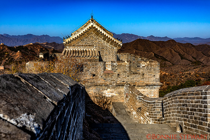 Guard House in the Jingshanling section of the Great Wall of China