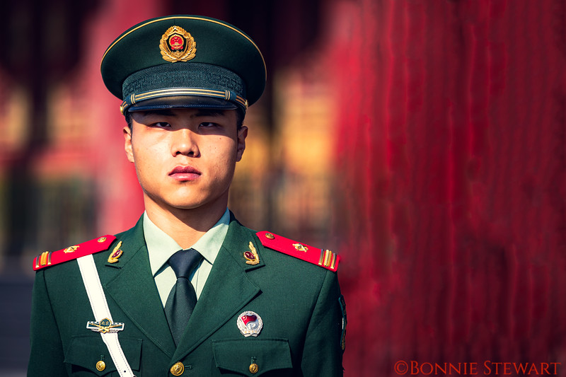 Guard in the Forbidden City