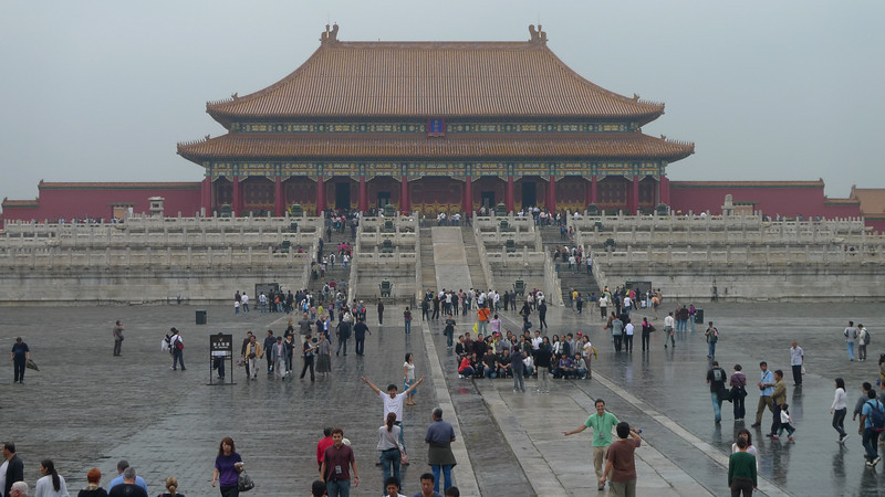 Entering The Forbidden City, Beijing.