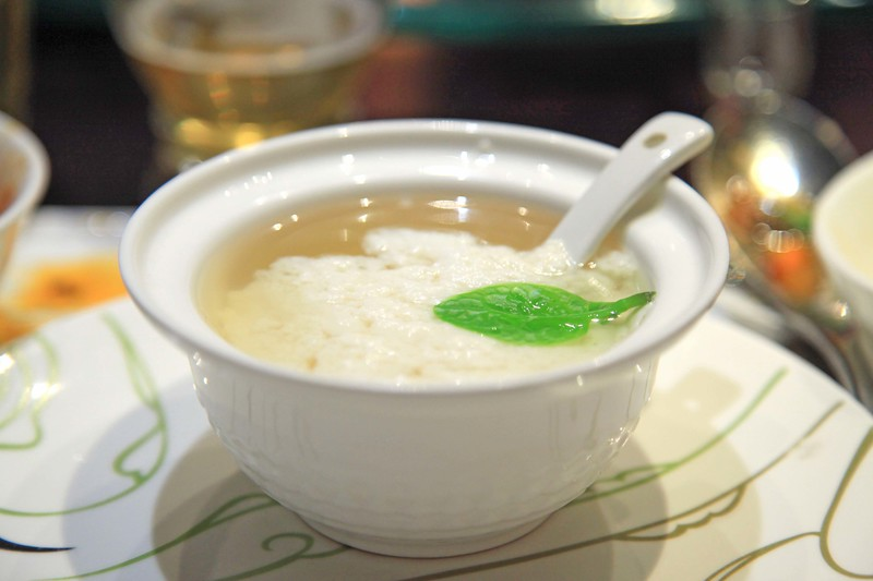 Egg white and tofu in chicken broth - Chengdu