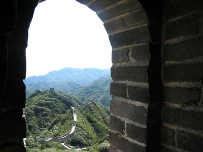All along the watchtower. Great Wall.