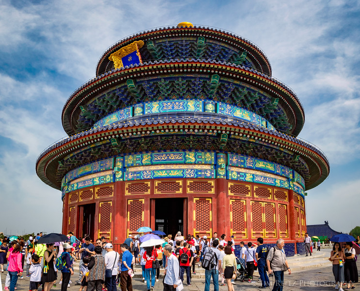 Hall of Prayer for Good Harvests, at Beijing's Temple of Heaven.