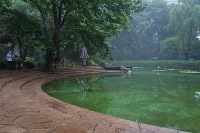 Jing An Park Pond