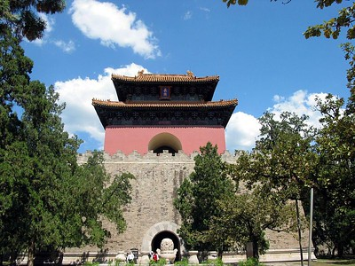 Third Ming Tomb, about 70 clicks N. of Beijing