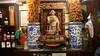 Shrine in a restaurant.
