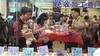 Restaurant scene Shanghai