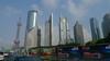 Part of the Shanghai skyline