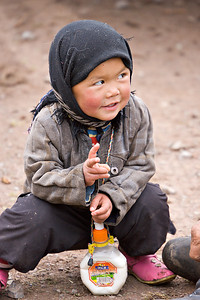 A Kazak Child