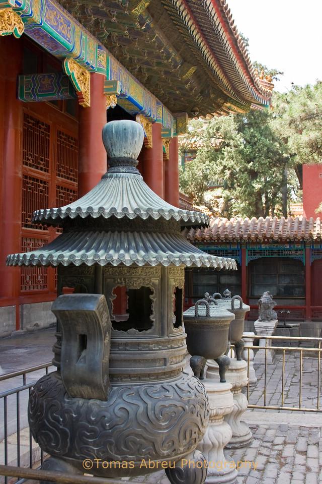 Incense Burner, Forbidden City, Beijing