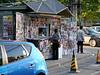 Beijing.  Newsstand near our hotel.