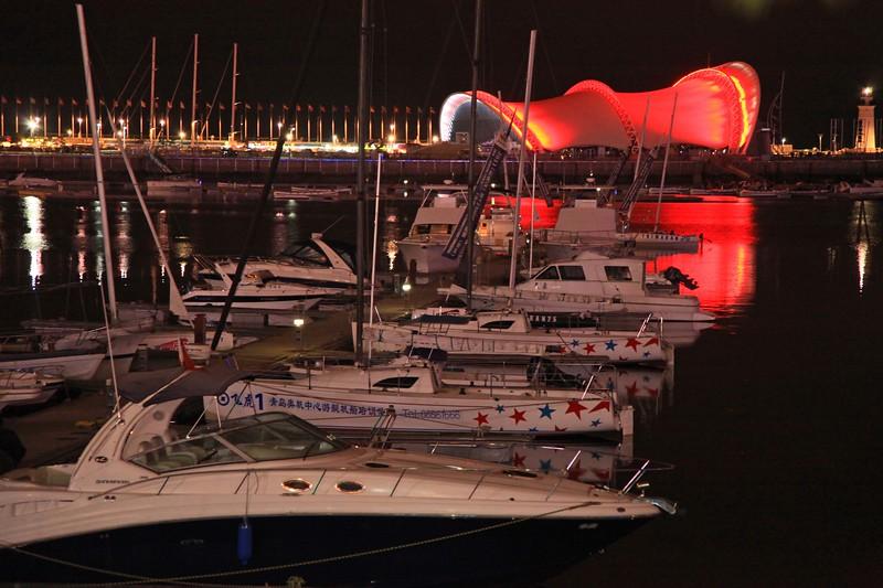 Qingdao boats
