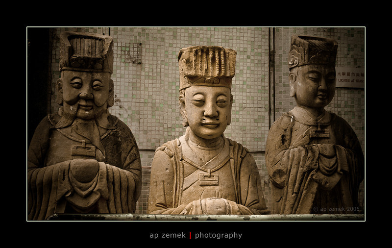 Three Wise Men of Hong Kong