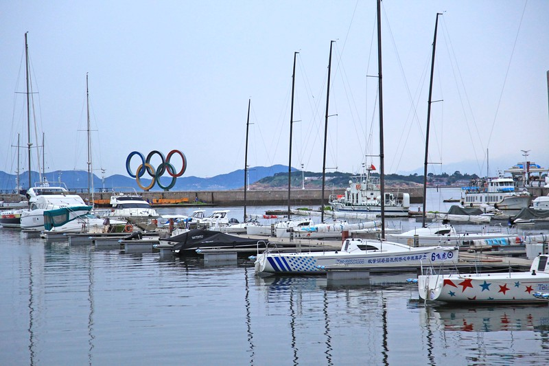 Site of 2008 Olympic sailing competition - Qingdao