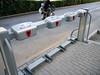 Beijing.  Self-service rental bike stand?