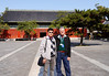Beijing. The Museum of Ancient Architecture. Just a happysnap of Bill and yours truly.